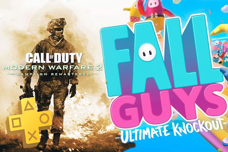 Juegos gratis de PS Plus en Agosto 2020 Call of Duty MW 2, Fall Guys Ultimate Knockout