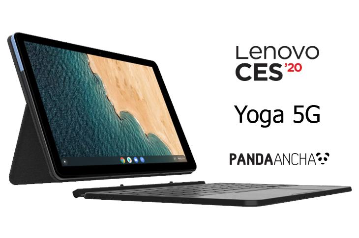 Ficha técnica Lenovo Yoga 5G primera computadora para redes 5G