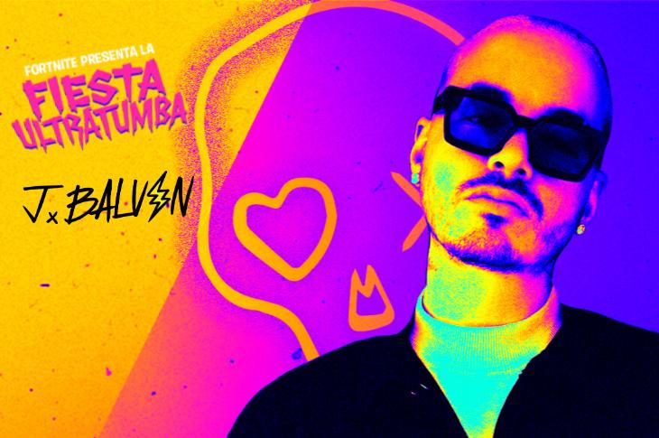 Fortnite Fiesta Ultratumba J Balvin ofrecerá concierto en el evento de Halloween