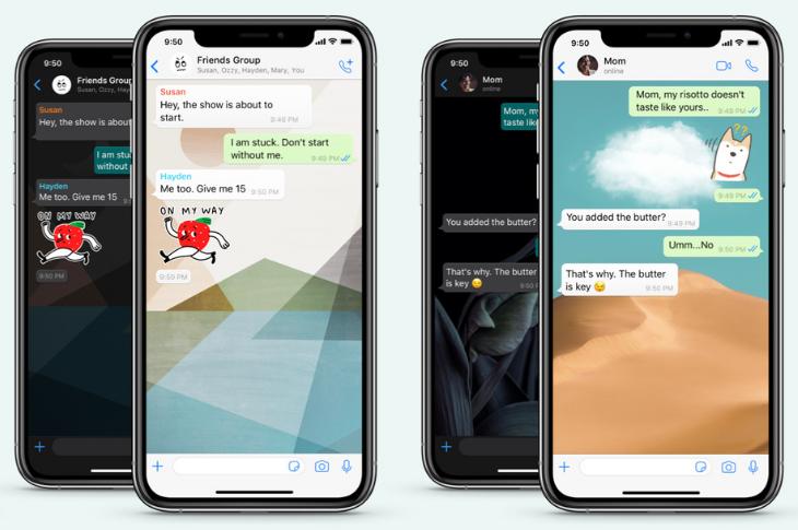 WhatsApp lanza nuevos fondos de pantalla personalizados para cada chat y más