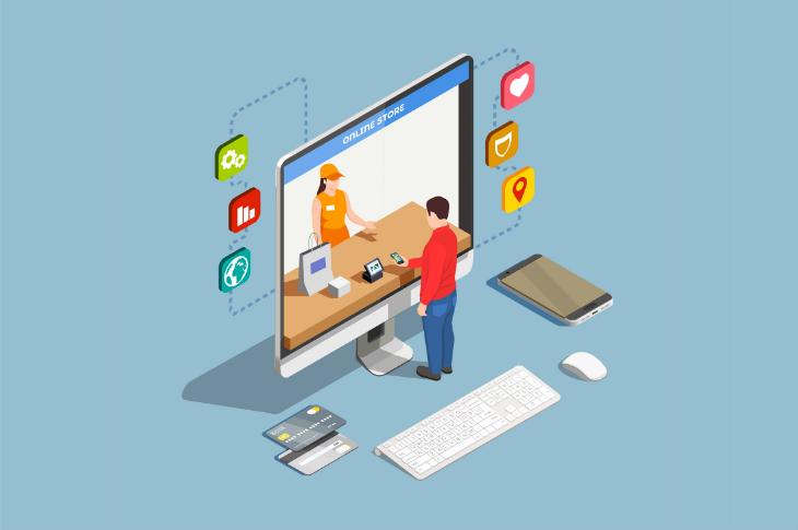Ventas online crecen 350 por ciento en 2020