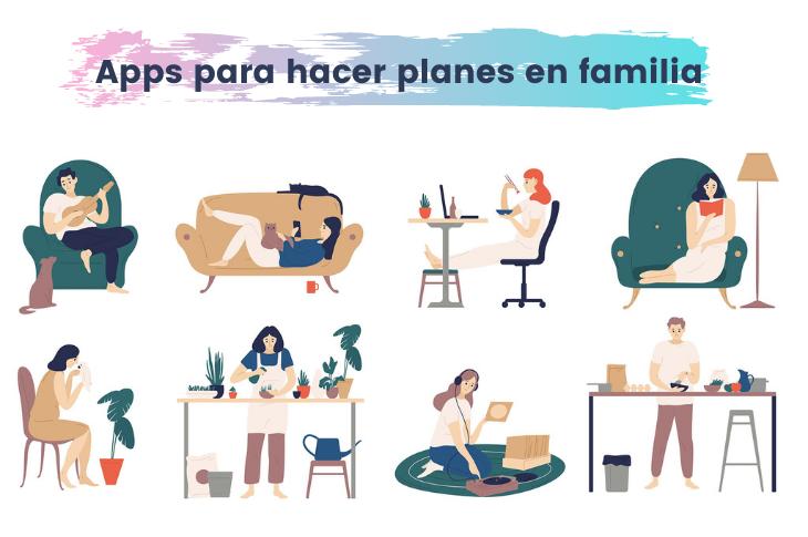 3 aplicaciones para hacer planes en familia