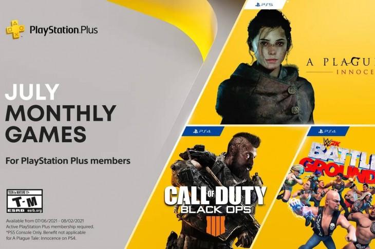 Juegos gratis de PS Plus en Julio 2021
