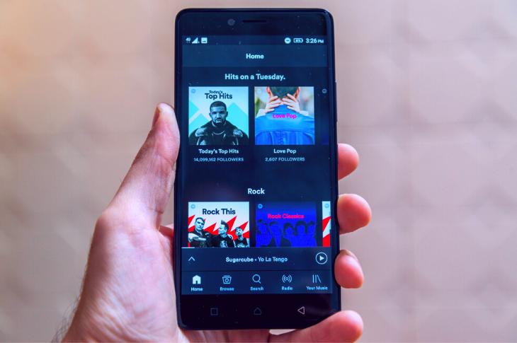 Spotify lidera la música en streaming en México