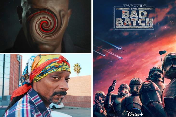 Mejores videos: Star Wars: The Bad Batch, Snoop Dogg, Spiral y mucho más