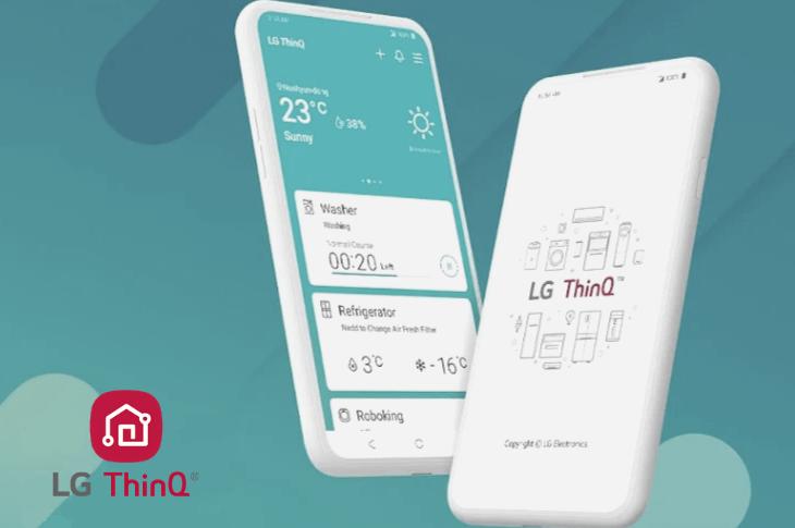 LG ThinQ App controla dispositivos LG en modo remoto