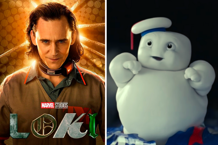 Mejores videos: Loki, Ghostbusters: Afterlife, Apex Legends y más