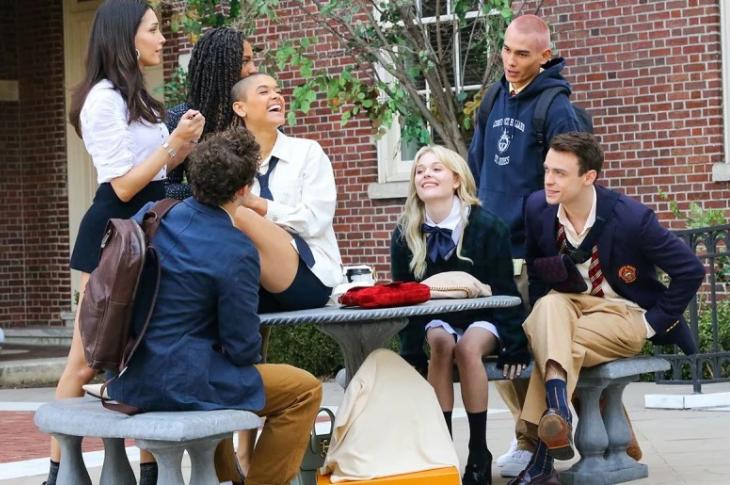 Gossip Girl galería interactiva del elenco de la parte 2 por HBO Max