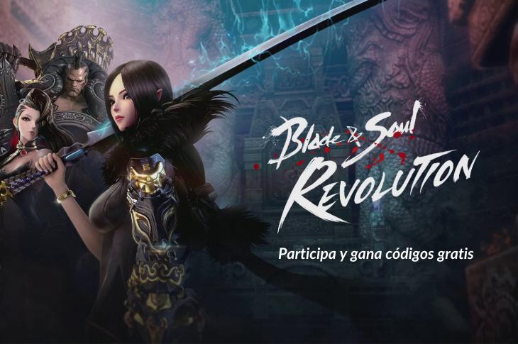 Gana un código para Blade & Soul Revolution