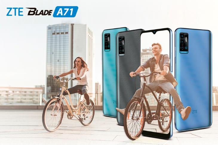 ZTE Blade A71: precio y ficha técnica
