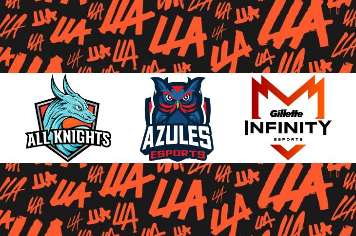 Liga Latinoamericana de League of Legends, Segunda Semana resultados y tabla general