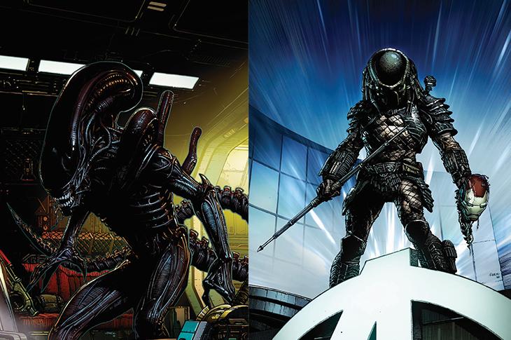 Alien y Depredador llegan a Marvel Comics
