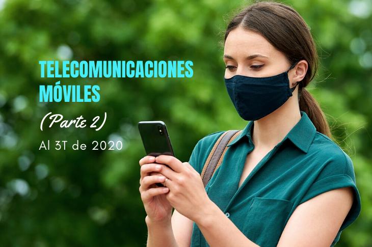Mercado de Telecomunicaciones Móviles al 3T de 2020 en México (Parte 2)