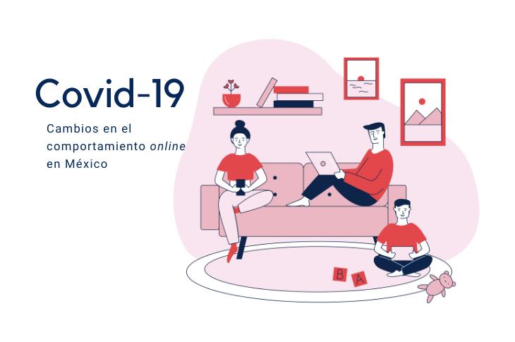 COVID-19 cambios en la conducta online en México (INFOGRAFÍA)