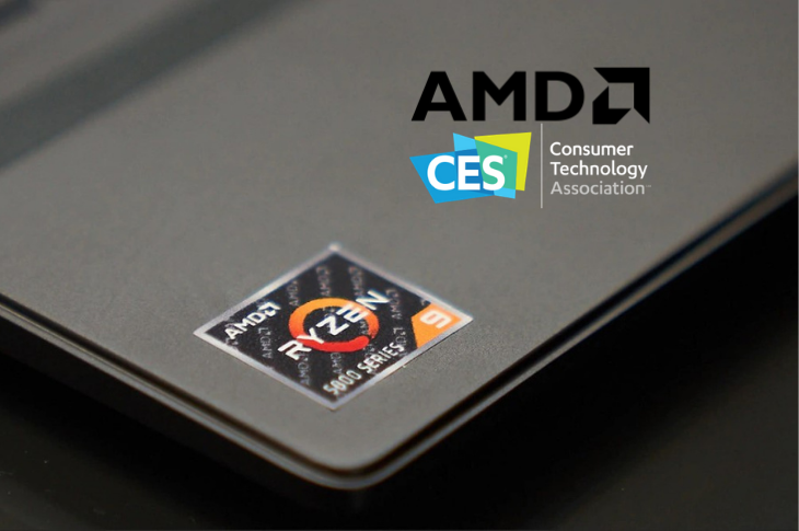 AMD en CES 2021: nuevos chips Ryzen 5000 para laptops y gaming