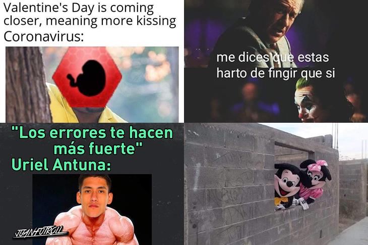 Memes de San Valentín, Disney en Querétaro, Liga MX y más