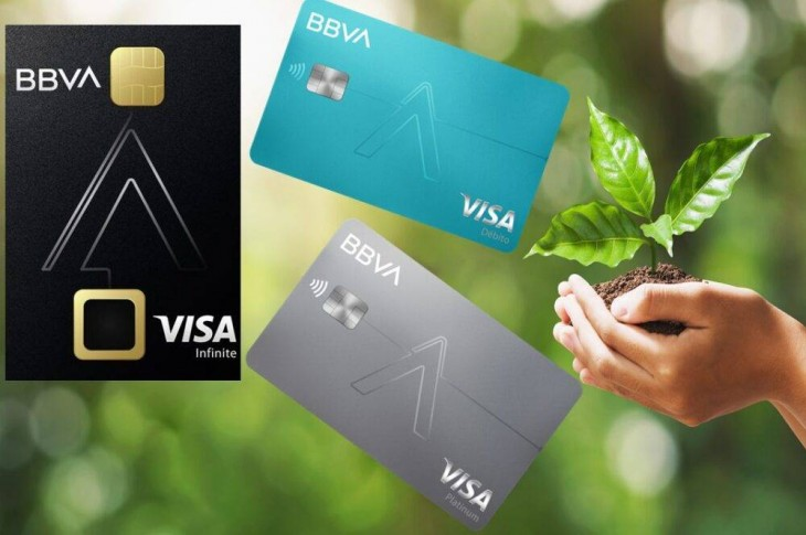 BBVA nueva generación de tarjetas de crédito sustentables y más seguras