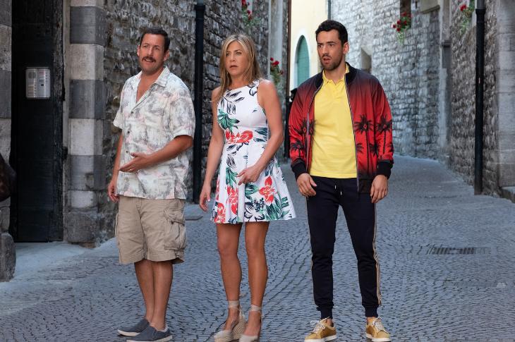 Adam Sandler rompe récord en Netflix con Misterio a Bordo