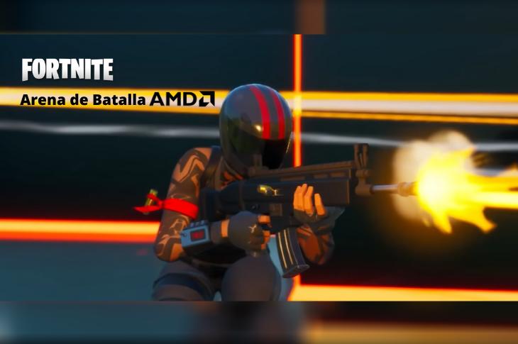 Cómo acceder a Arena de Batalla AMD para jugadores de Fortnite