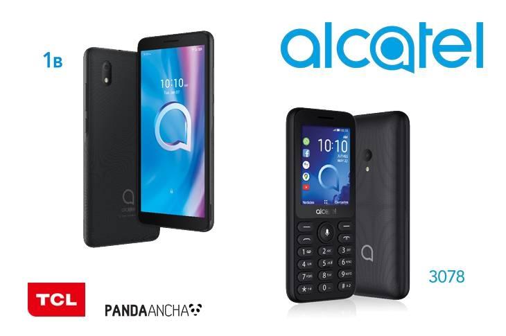 Alcatel 1B y 3078, nuevos teléfonos en México (INFOGRAFÍA)