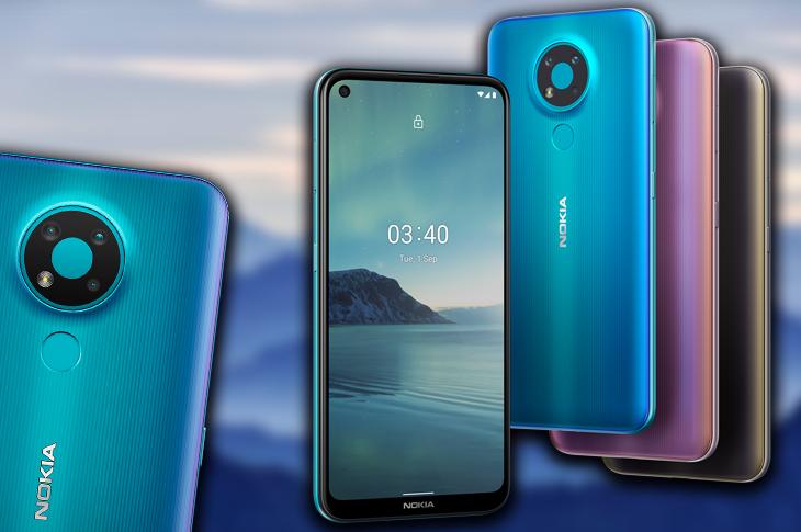 Nokia 3.4: Gran batería y Android One a buen precio (ficha técnica)