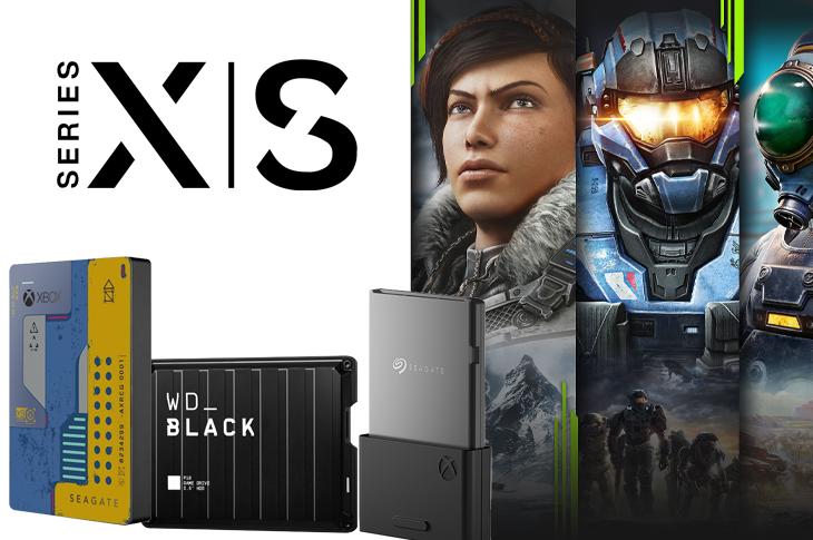 La mejores memorias externas para Xbox Series S y Series X