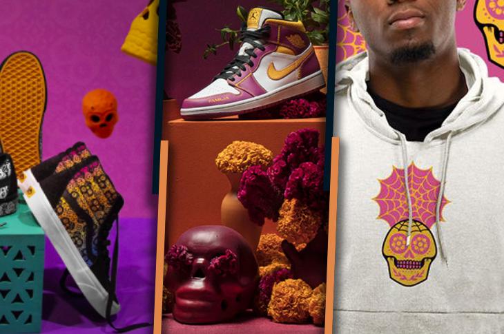 Vans, Nike y Adidas presentan sus colecciones de Día de Muertos