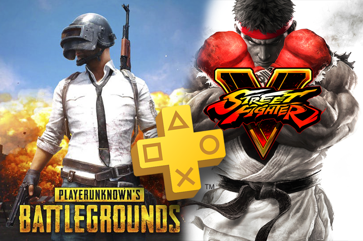 Juegos gratis de PS Plus en Septiembre 2020 PUBG y Street Fighter V