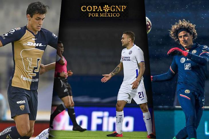 Copa GNP por México canales y horarios para ver los partidos de la Jornada 2