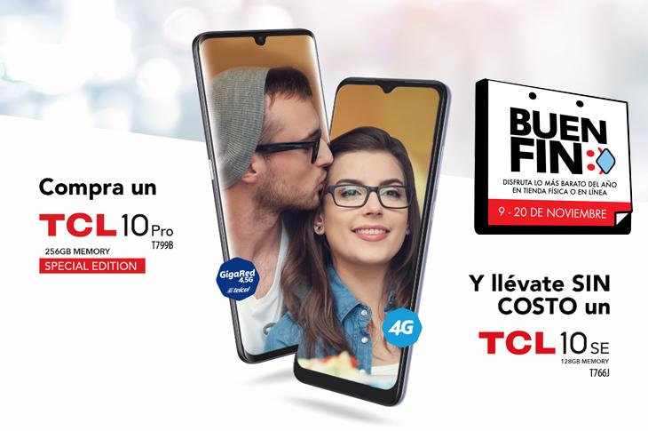 Buen Fin 2020: Ofertas en TLC con ¡Smartphones al 2x1!