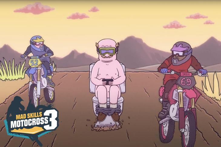 Mad Skills Motocross 3 se estrena en móviles este 25 de mayo