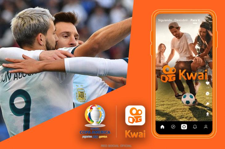 Kwai es patrocinador oficial de la Copa América 2021
