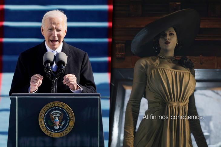 Los mejores videos: Joe Biden, Foo Fighters, Resident Evil Village y más