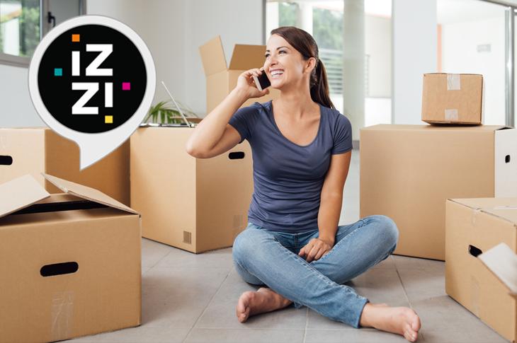 Cambio de domicilio izzi cómo solicitarlo, costos y más