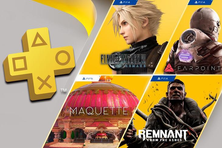 Juegos gratis de PS Plus en Marzo 2021 incluyen Final Fantasy VII Remake