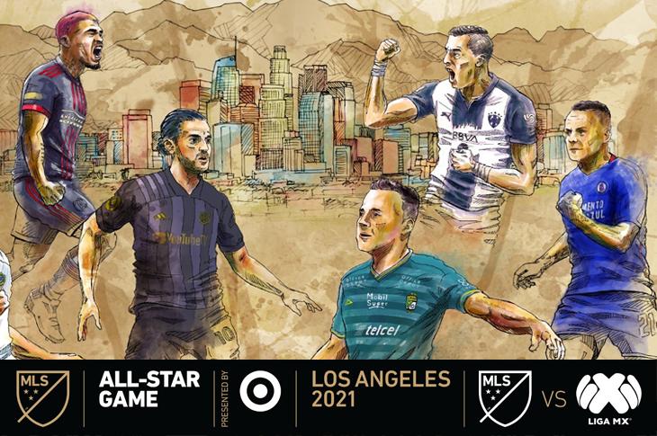 All Stars Game 2021 Canales de TV para ver la Liga MX vs MLS