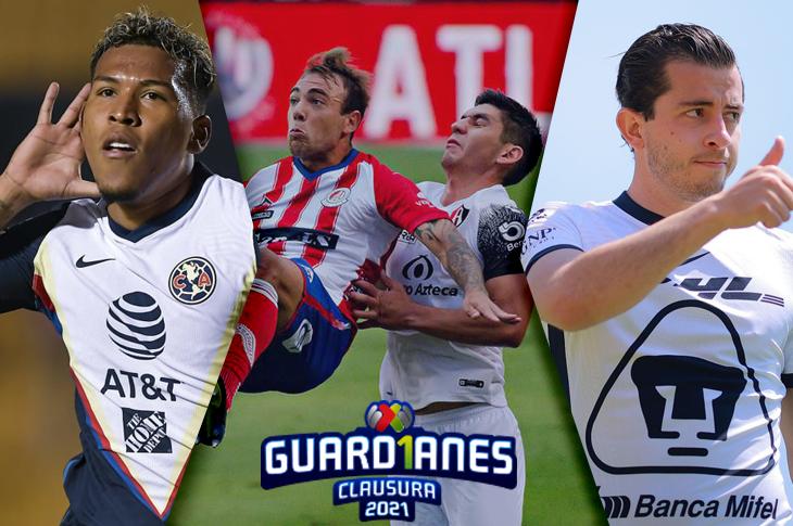 Liga MX Canales del Pumas vs América y toda la Jornada 17 en Liga MX