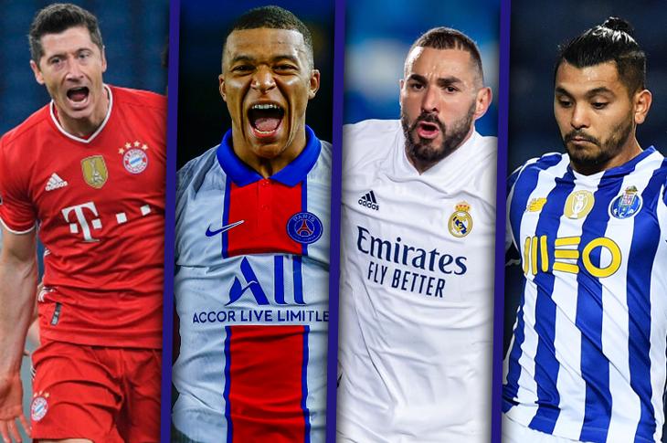 Partidos de la Champions 2020-21 canales y horarios de Cuartos de final