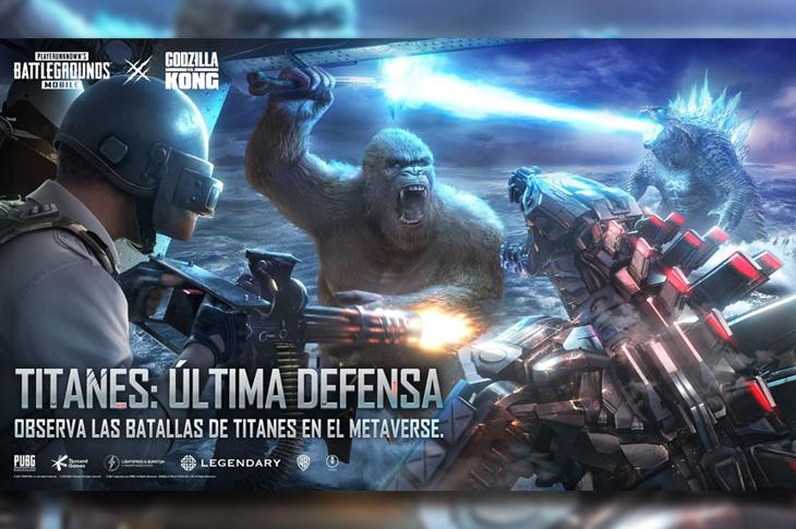 Godzilla vs Kong Disfruta la película interactiva en PUBG Mobile