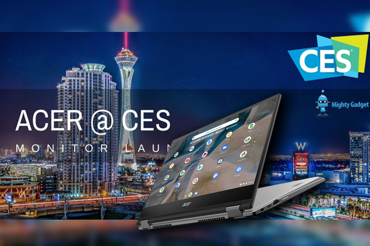 Acer en CES 2021 Computadoras, monitores y GPUs para gaming