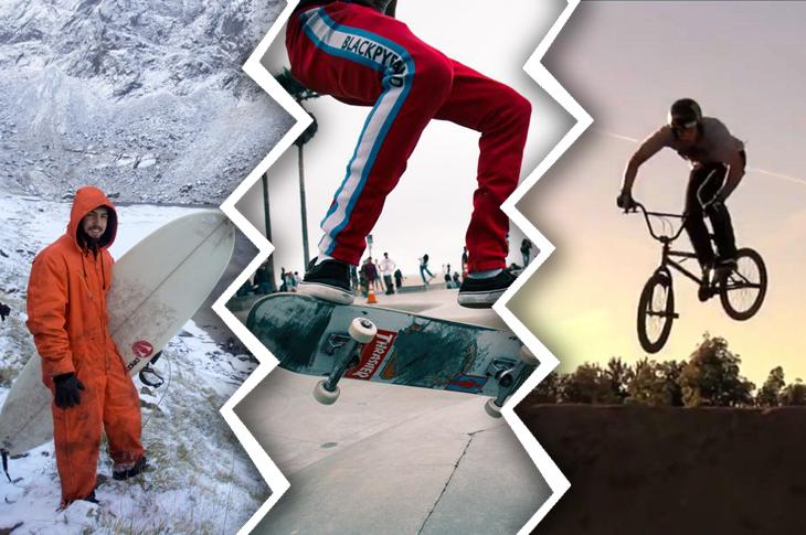 Películas y documentales de skate, surf y BMX (parte 2)