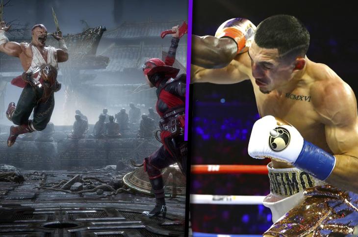 Torneo de Mortal Kombat con boxeadores organizado por Space