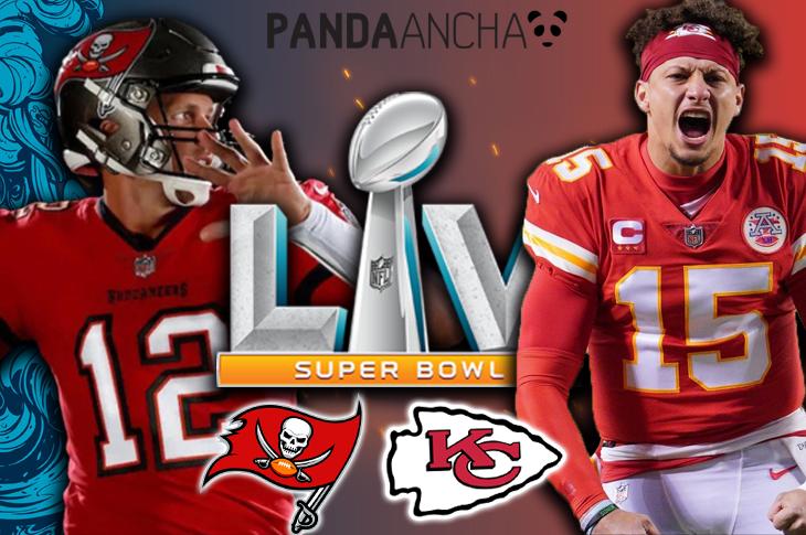 Super Bowl LV Canales y horarios para ver el Kansas City vs Tampa Bay