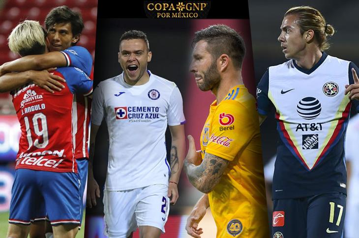 Copa GNP por México canales y horarios de TV de las semifinales