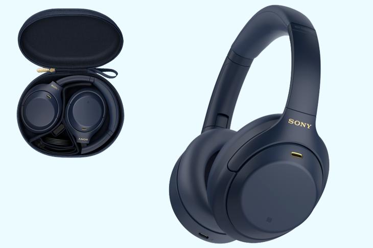 Llegan a México los audífonos Sony WH-1000XM44 Midnight Blue