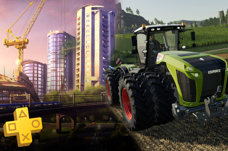 Juegos gratis de PS Plus en mayo 2020 Cities Skylines y Farming Simulator 19
