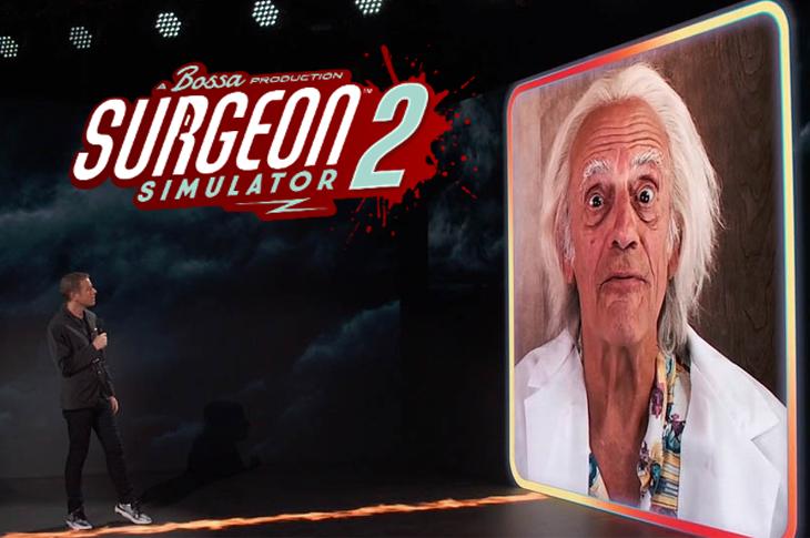 El Doc Brown de Volver al Futuro anuncia lanzamiento de Surgeon Simulator 2
