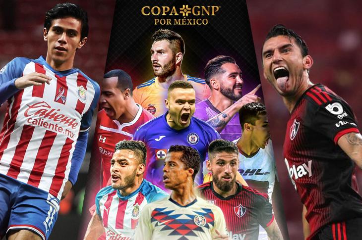 Copa GNP por México canales y horarios para ver los partidos por TV