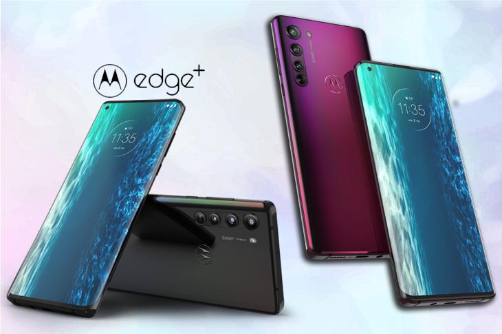 Motorola Edge pantalla en cascada y potencia al máximo