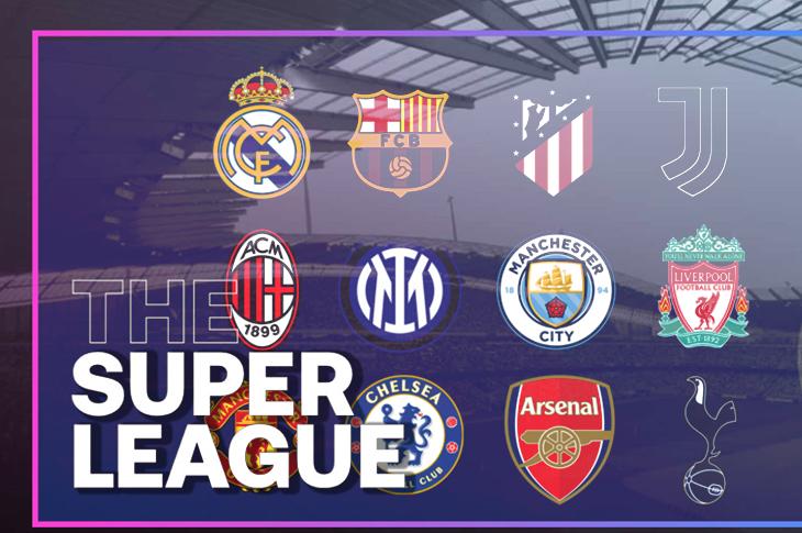 Superliga Europea Todo lo que se sabe al momento